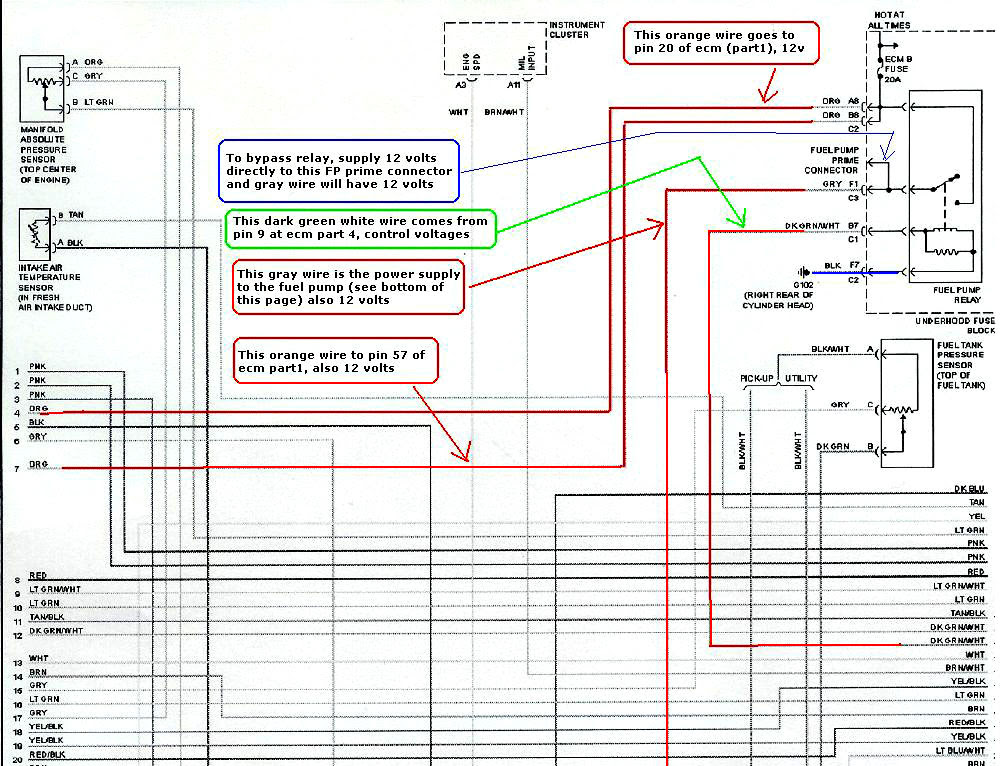 1998 Honda Accord Engine Diagram Check Engine Light Is On With Wiring Circuit