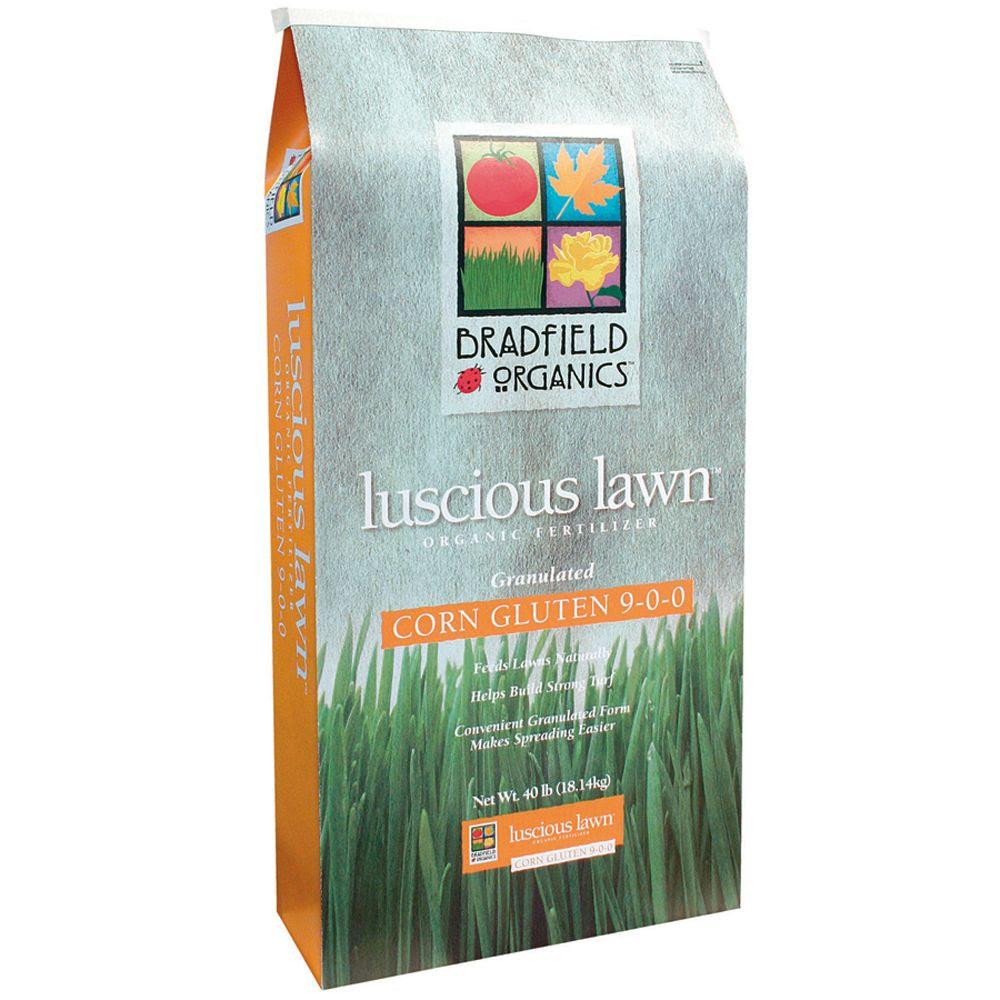 Bradfield Organics 9-0-0 Luscious Lawn Corn Gluten, 40lbs