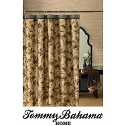 Tommy Bahama Amber Isle Brown Shower Curtain | Overstock.