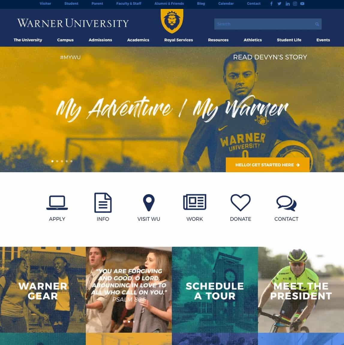 Warner University Lake Wales Florida