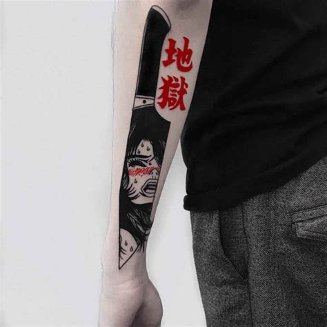 knife tattoo arm tattoo ideas gallery