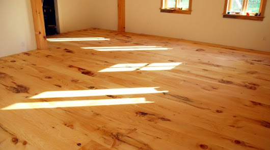 Sanding your own wood floors
