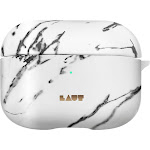 LAUT - HUEX ELEMENTS Case for Apple AirPods Pro - Marble White