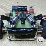 Trong mô hình mô hình xe-over-GSM-robot
