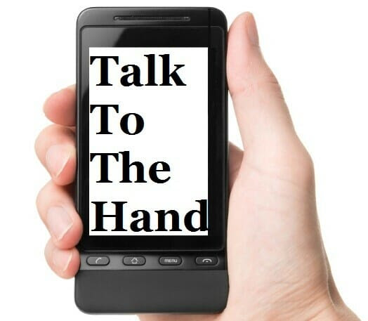 Mobile Fundraising: Talk To The Hand - Fundraiser Help