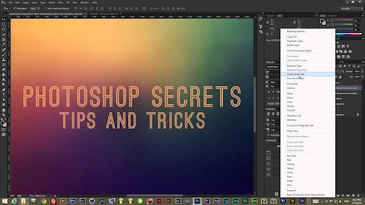 Best Graphics Settings Tips Tricks: Photoshop Tutorials