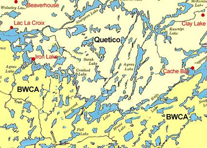 Tattoo Kamasutra Boundary Waters Map