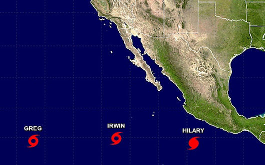 Cruise Ship Weather For Eastern North Pacific Tropical Weather - Cruise Bruise Blog