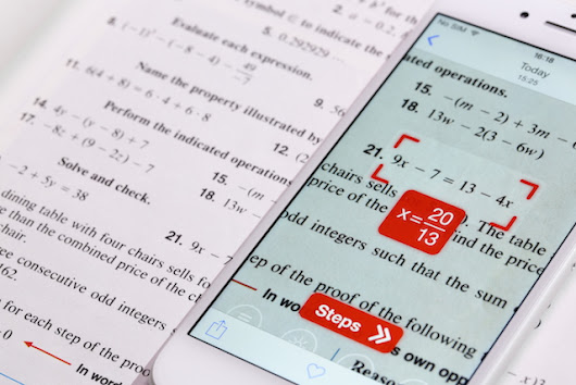 This Free App Uses Your Smartphone's Camera to Do Your Math Homework for You
