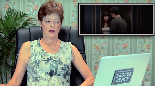 Old people were forced to watch the '50 Shades of Grey' trailer and give their reactions.