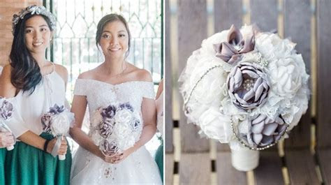 This Bride Saved Money By Making Her Own Bouquet And
