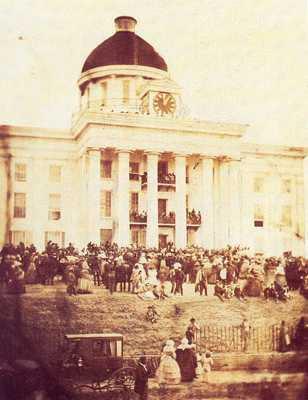 463Px-1861 Davis Inaugural