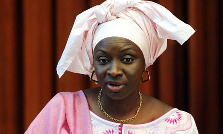 Aminata Toure, the prime minister of the West African state of Senegal. She took office in 2012. by Pan-African News Wire File Photos