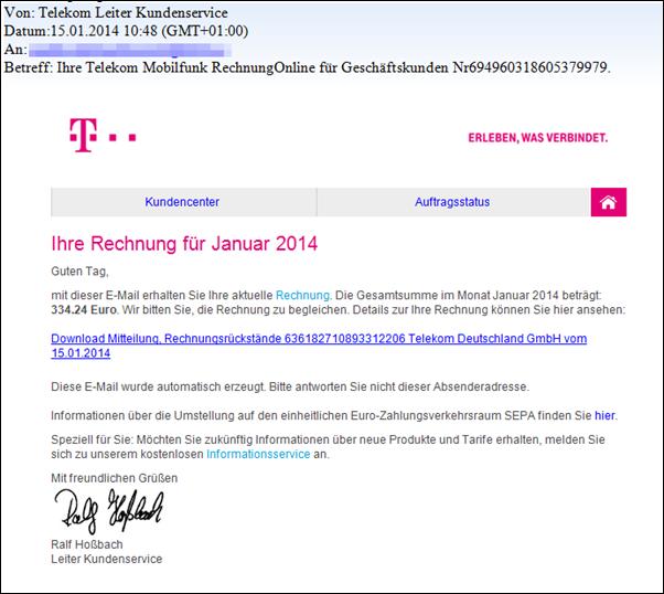 Deutsche Telekom Rechnung Login