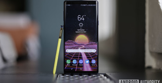 New Galaxy Note 9 Android 9 Pie beta arrives, Dec. 2018 security patch