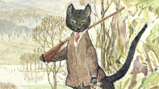 100 Years Later, Beatrix Potter's Tale Of A Fanciful Feline To Be Published