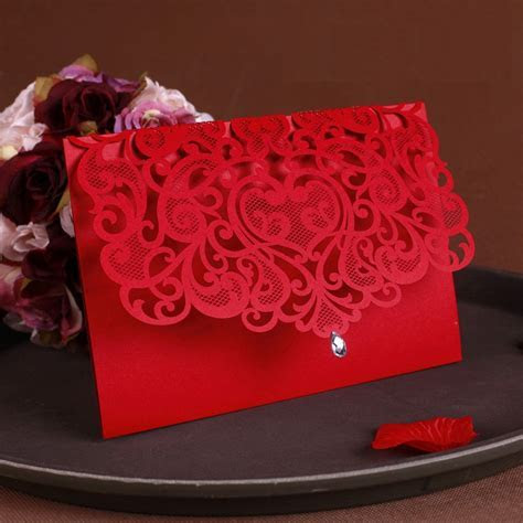 Online Buy Wholesale wedding invitations china from China