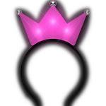 Blinkee 3JHHPTP 3 Jeweled Hot Pink Princess Crown Headbands