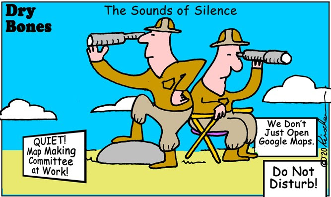 Dry Bones: The Sounds of Silence