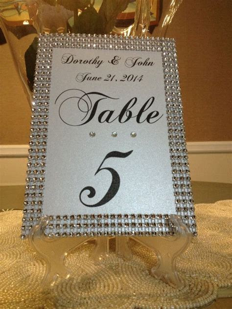 Table Numbers   The Event Group Weddings