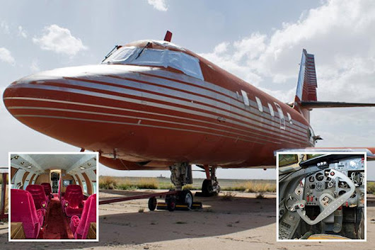 Elvis Presley's custom-made private jet goes up for auction