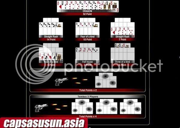 Aturan Permainan Kartu Capsa Susun CapsaQQ