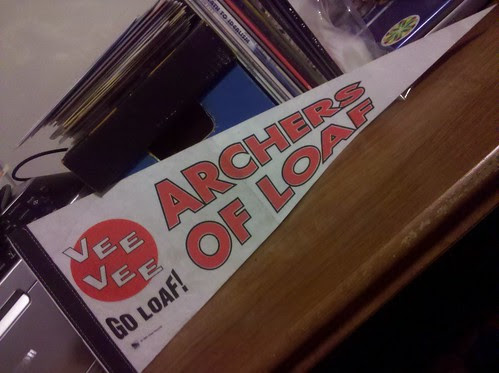 Archers Of Loaf - Vee Vee Promotional Pennant