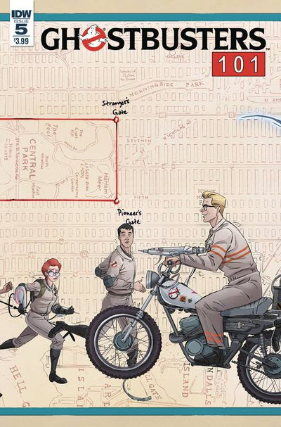 Ghostbusters 101 #5 (of 6) (Cover A - Schoening)