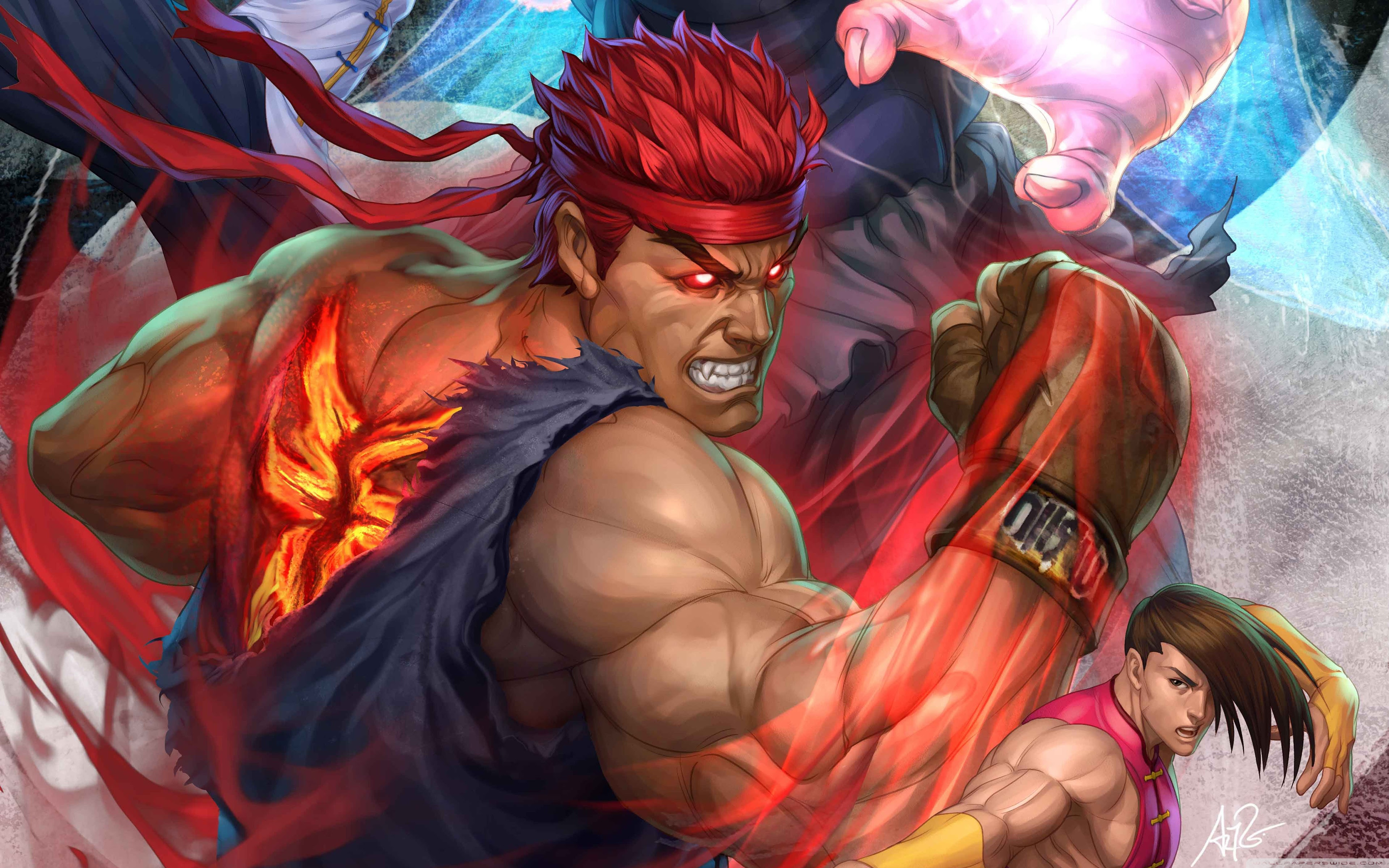 Street Fighter Hd Wallpaper 3840x2400 67920