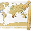 Luckies of London Scratch Map Original Personalised World Map Poster, Travel Gift: Luckies of London Ltd.: : Kitchen & Home