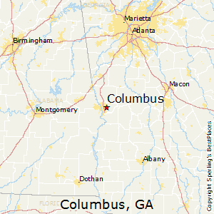 Best Places To Live In Columbus Georgia
