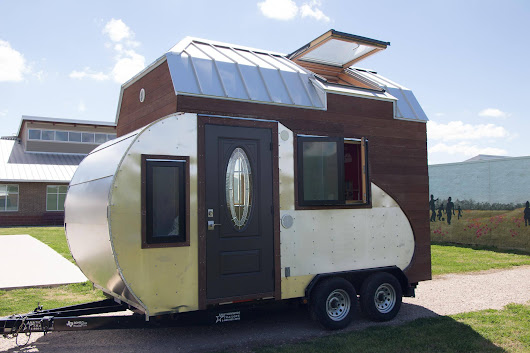 Combination Teardrop Trailer And Tiny House