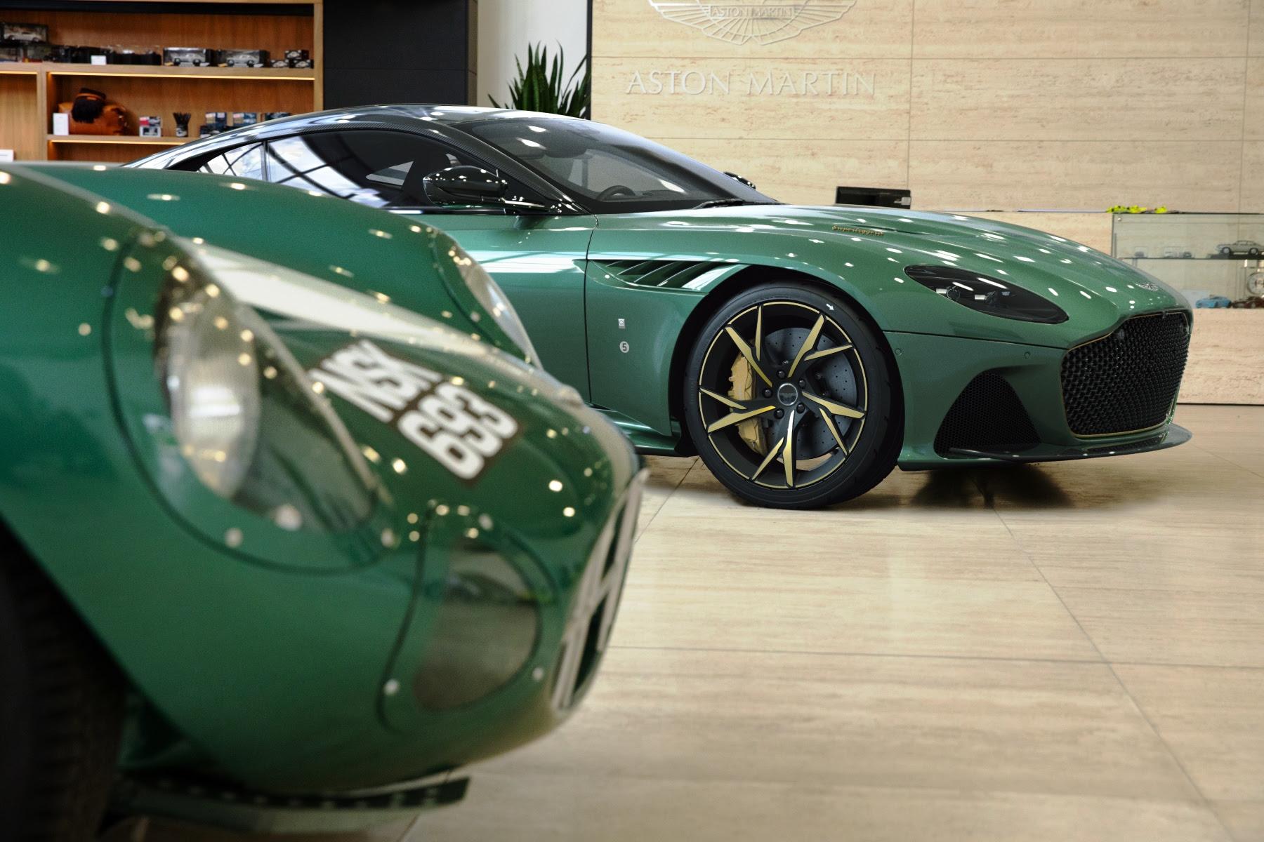 Aston Martin Dbs 59 Celebrates Historic Le Mans Win Automotive Blog