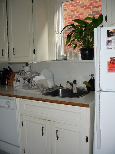 galley kitchen renovation, small kitchen before and after, small white kitchen renovation