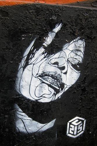 NYC - Brooklyn - Williamsburg: Streetart by C215