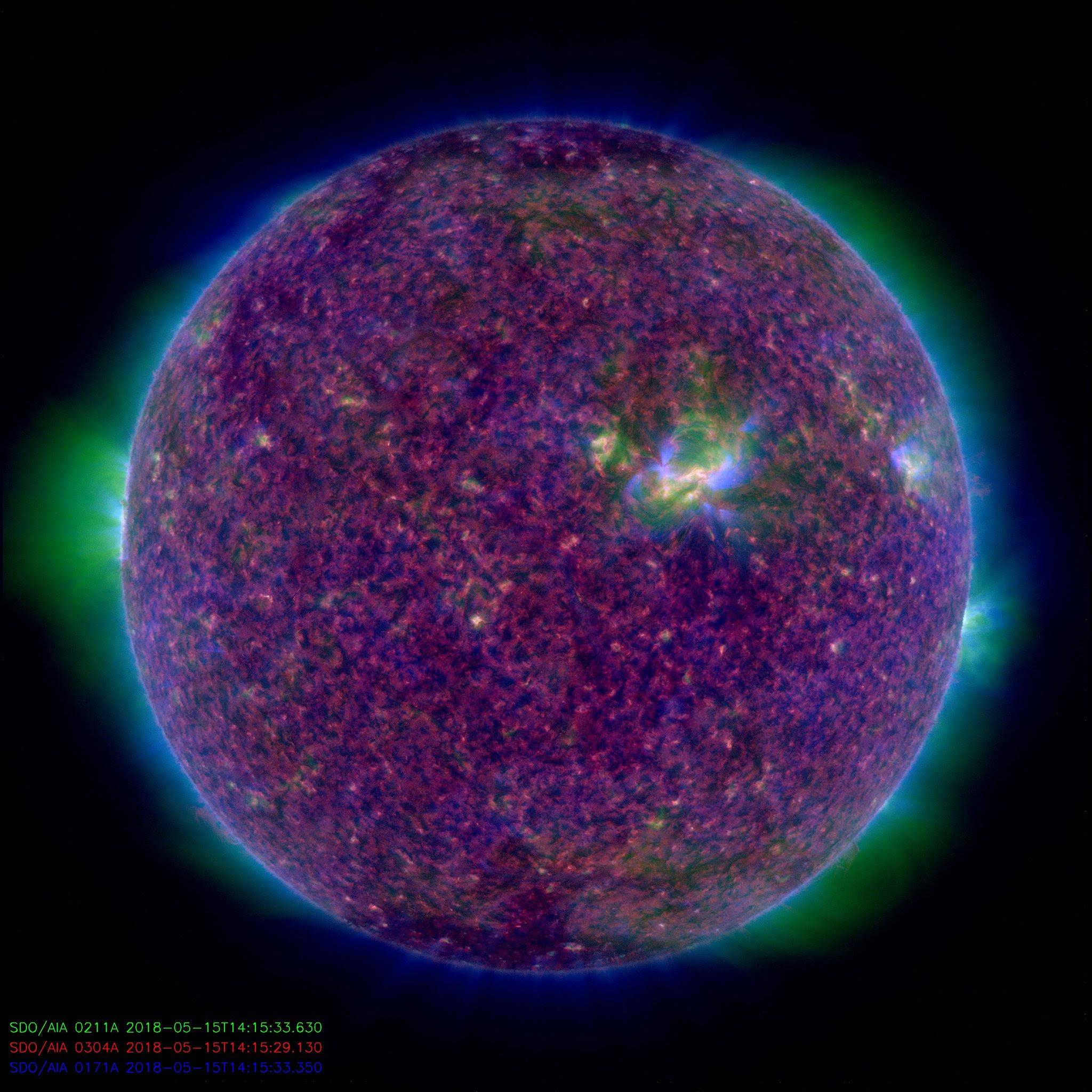 A Sunny Day   NASA