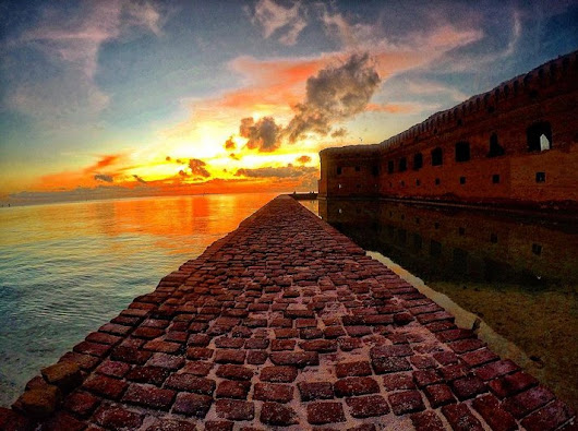 "Ocean Key Resort on Twitter: ""Honoring one of our favorites @DryTortugasNPS home to Fort Jefferson. #NPS100 #LoveFL #KeyWest 📷 offshoretom """