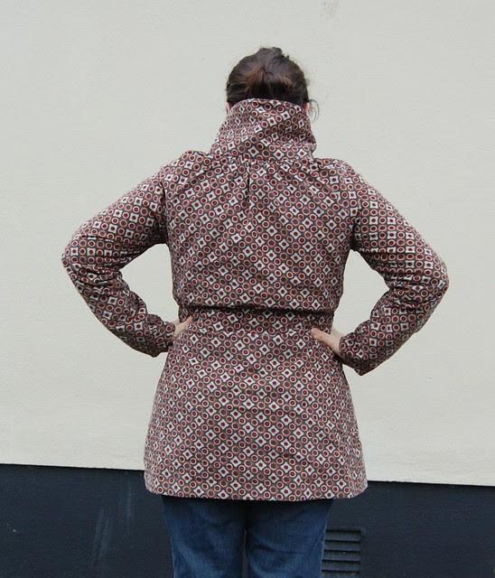 Minoru Jacket Back