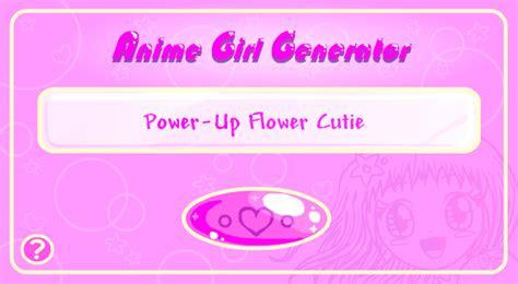 anime girl generator  princess peachie  deviantart