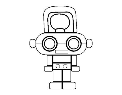 Coloring Book Robot Robot With Light Coloring Page 2018 Coloring
