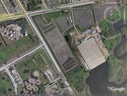 Google Map of Spring Creek Composting Site