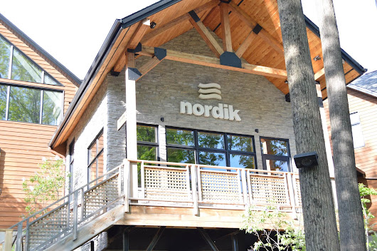 Relax at Nordik Nature Spa in Chelsea, Quebec