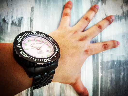 "ARAGON Divemaster EVO, a true ""VALUE for MONEY"" watch 