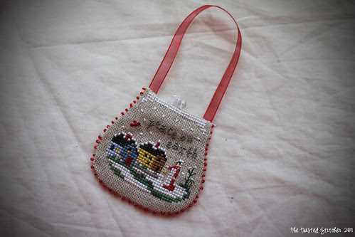 VS Peace on Earth Purse Ornament