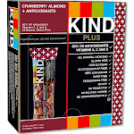 Kind Plus Fruit & Nut Bars, Cranberry Almond + Antioxidants - 16.8 oz box, 1.4 oz bars