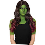 Guardians of The Galaxy Vol 2 Gamora Adult Costume Wig
