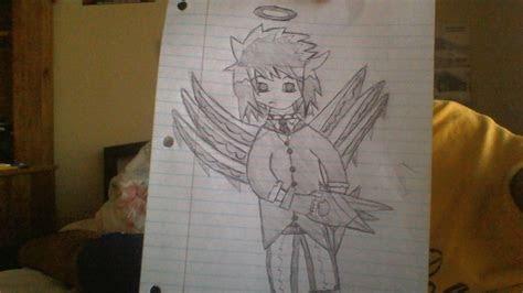 angel boy random quick anime draw  mrkaratekid