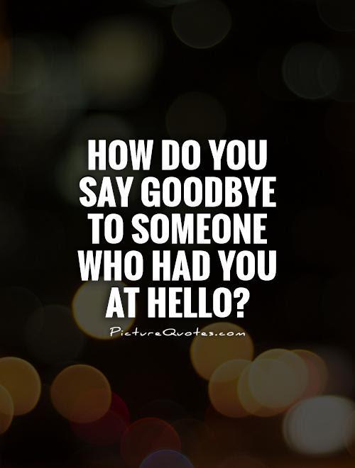 Sad Goodbye Quotes. QuotesGram