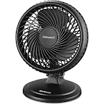Holmes Lil' Blizzard HAOF87BLZ-UC Oscillating Table Fan