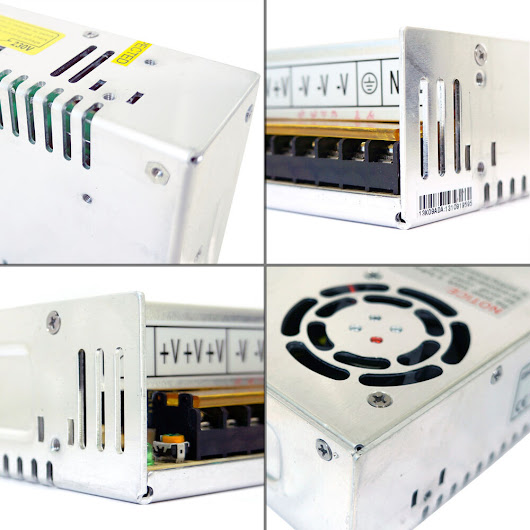 Details about Power Supply Regulated 5V/12V/24V/48V 1/2/3/10/15/20/30/50A Driver LED Strip